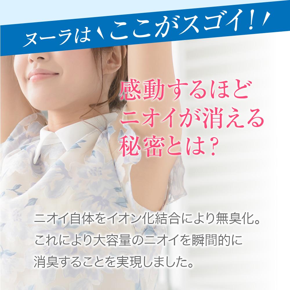 急速イオン消臭スプレーヌーラ(単品)