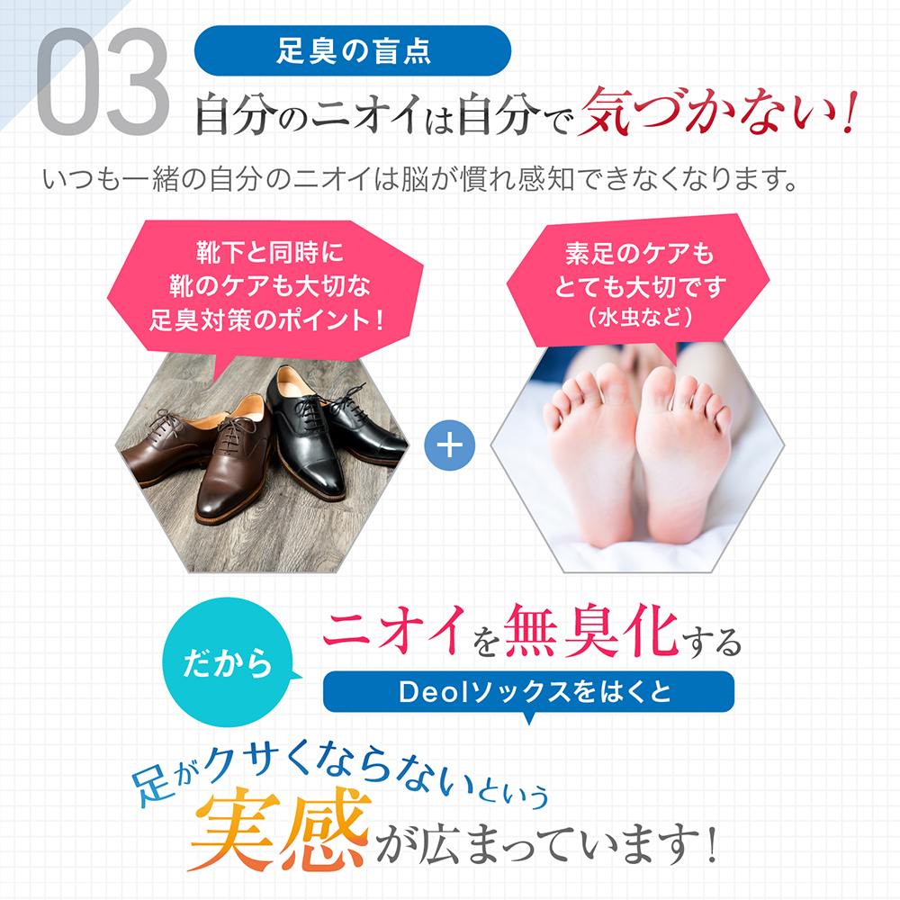 デオル5本指ソックス WOMEN