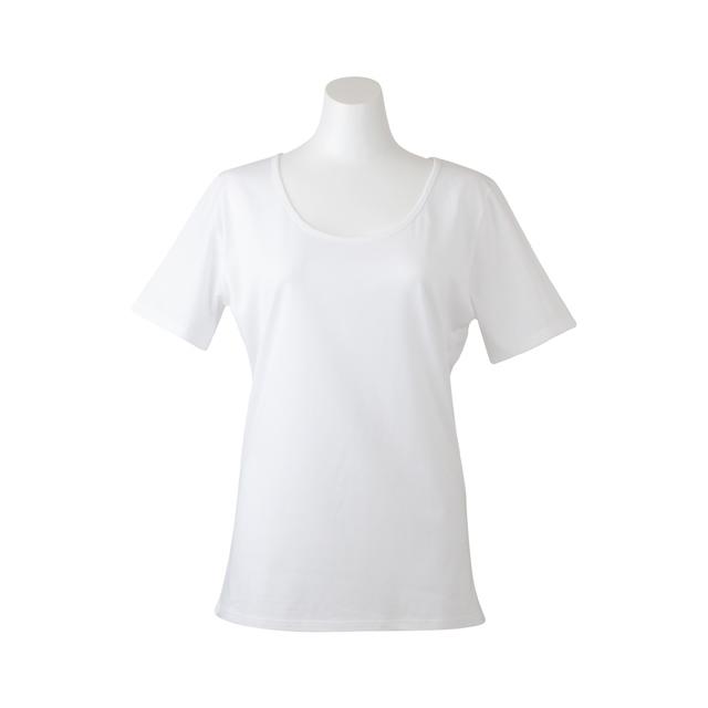 デオルUネックTシャツWOMEN 同サイズ2枚組