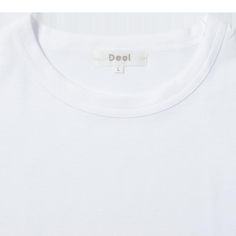 デオルクルーネックTシャツ 同サイズ2枚組
