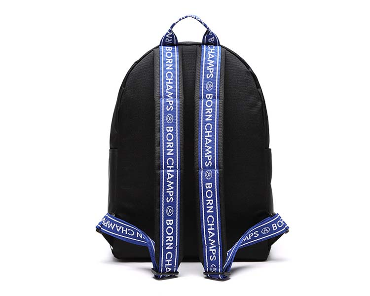 BORNCHAMPS X UNIONOBJET TAPE BAG バックパック 黒色