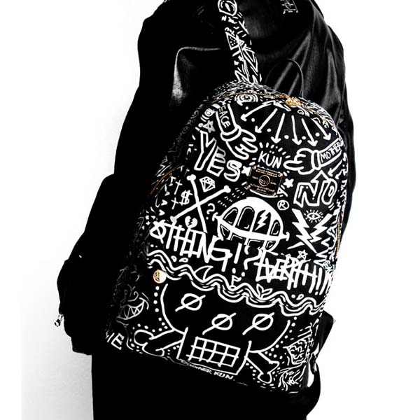 SAKUN(サクン)B-KNOCK KNOCK BACKPACK(BLACK)