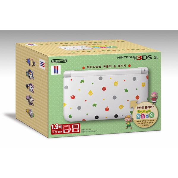 とびだせどうぶつの森 限定版パッケージ(3DSXL本体とどうぶつの森のパッケージ )韓国盤[送料無料]