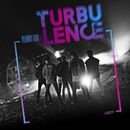 GOT7(ガットセブン) 2集「FLIGHT LOG : TURBULENCE」(韓国盤) ジャケット8種類の中から1種ランダム発送