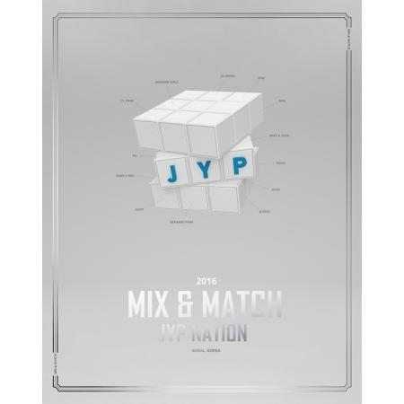 JYP公式写真集! JYP Nation Korea 2016 Mix & Match