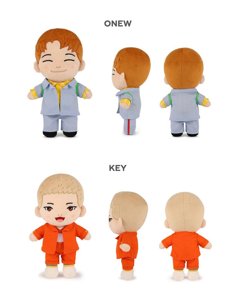 SHINee(シャイニー)キャラクター人形 (オンユ/キー/ミンホ/テミン選択)