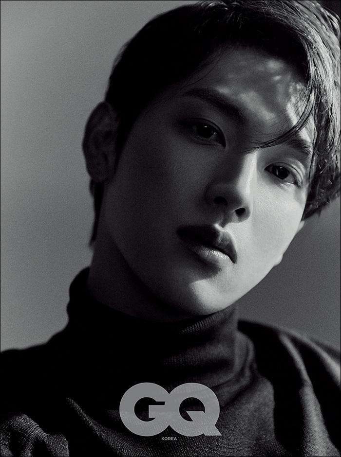 韓国雑誌 GQ KOREA(ジーキューコリア) 2021年3月号 ヒョンビン、イム・シワン、ASTROチャ・ウヌ掲載