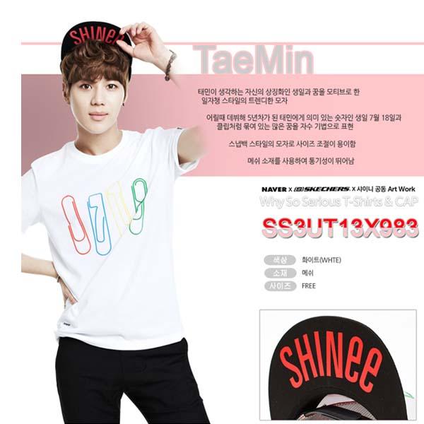 【期限限定♪】SHINee(シャイニー) テミン(Taemin) キャップ CAP [NAVER SHINEE&SKECHERSコラボ企画][予約]