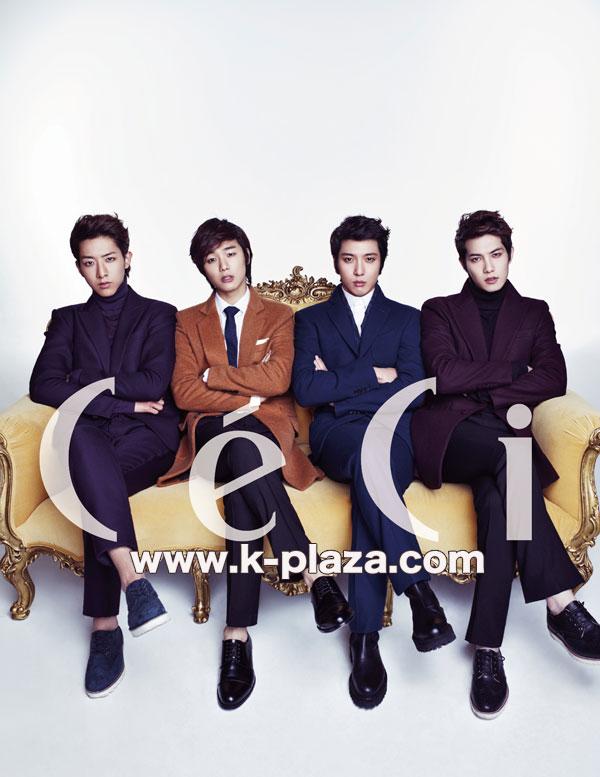 韓国雑誌 Ceci 2013年1月号 CNBLUE(シーエヌブルー)掲載[送料無料]
