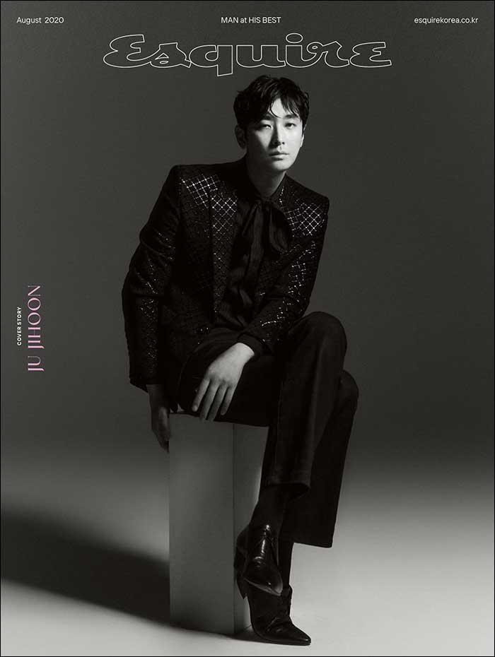 韓国雑誌 Esquire(エスクァイア)2020年8月号 チュ・ジフン表紙(ランダム発送)