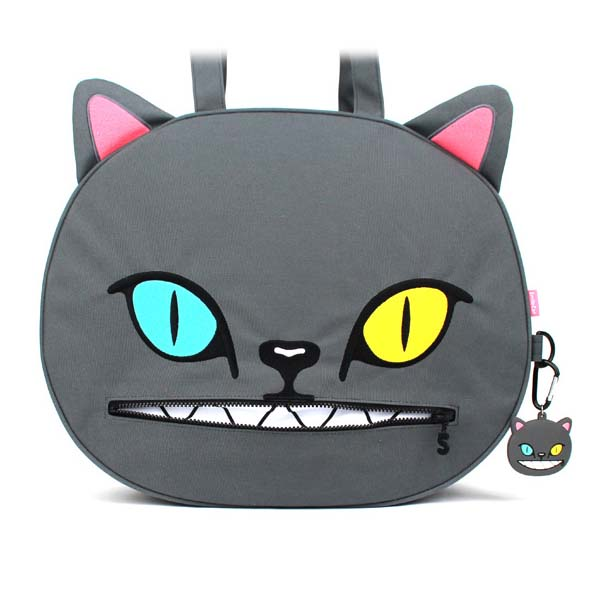 SAKUN(サクン)B-SMILE CAT PICNIC(GRAY)