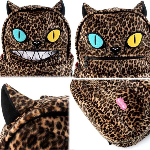 SAKUN(サクン)B-SMILE CAT LEO(BROWN)