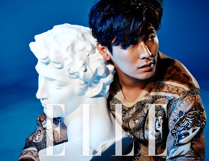 韓国雑誌 ELLE (エル)2014年7月号 コ・ソヨン表紙、SUPER JUNIORドンヘ、チュ・ジフン、2PMジュノ掲載![送料無料]