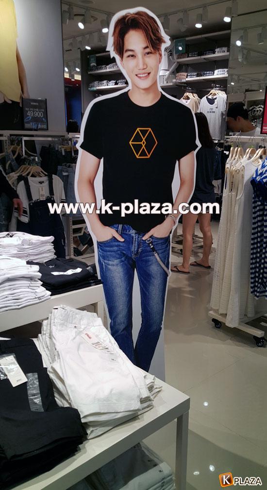 EXO(エクソ)×SPAO(スパオ)with unicefコラボレーションTシャツ 購買代行【注意事項参照】