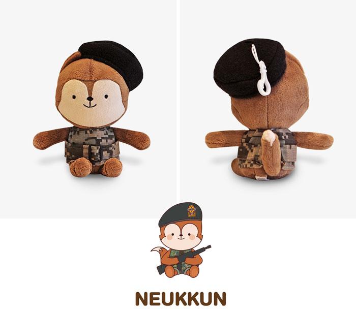 太陽の末裔 ぬいぐるみ人形 NEUKKUN & HAYANG スモールサイズセット(※スモールサイズは洋服を着ています)