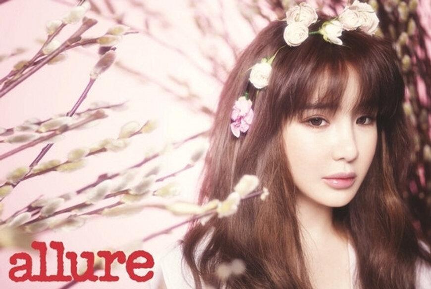 韓国雑誌 allure KOREA 2013年3月号 2NE1パク・ボム掲載[送料無料]