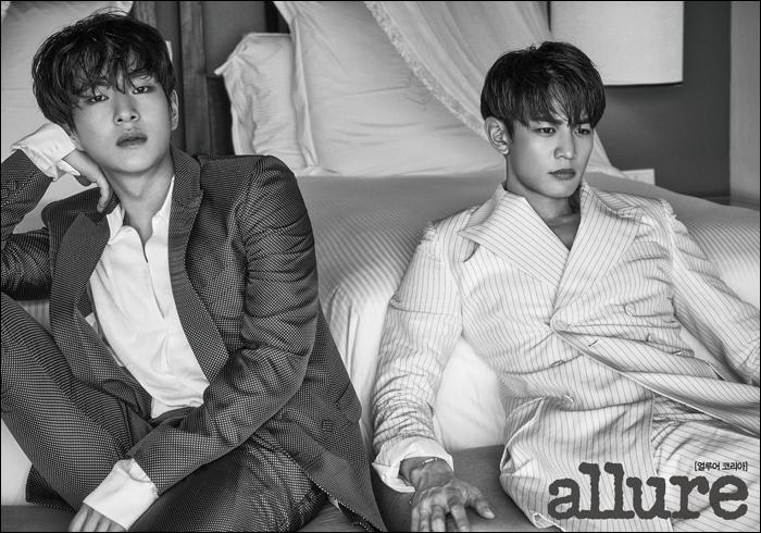 韓国雑誌 allure KOREA 2017年7月号 パク・シネ表紙、SHINeeオンユ&ミンホ、キム・ソンリョン掲載[送料無料]