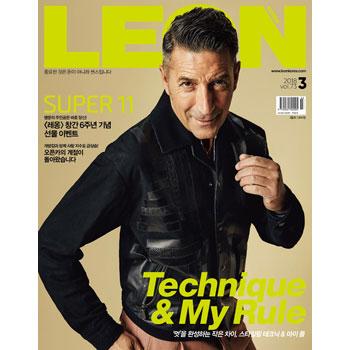 韓国雑誌 LEON KOREA(レオンコリア)2018年3月号 ソンフン掲載