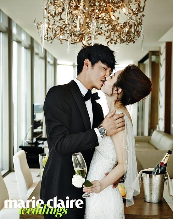 韓国雑誌 Marie Claire Weddings(マリクレールウェディングズ) 2015年 S/S ユン・サンヒョン&MayBee掲載![送料無料]