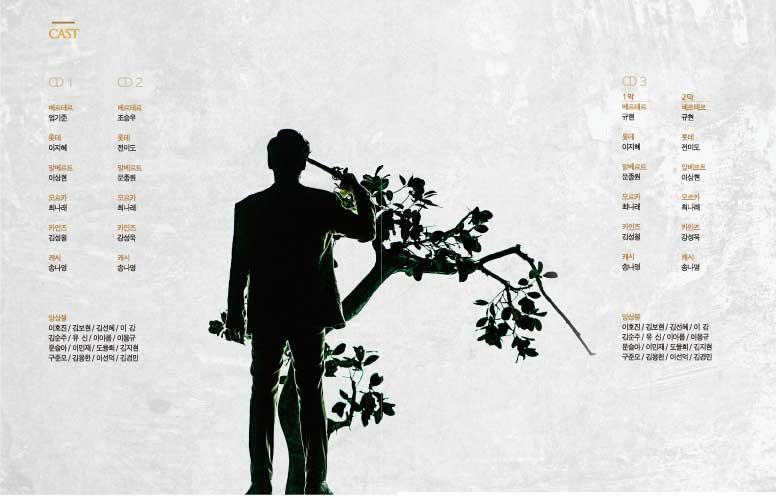 SUPER JUNIORキュヒョン、オム・ギジュン、チョ・スンウのミュージカル「Werther(ウェルテル)」OST
