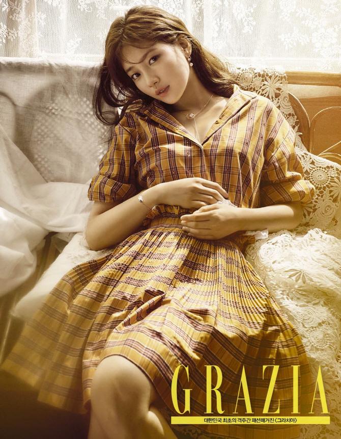 韓国雑誌 GRAZIA 2016年8月1号・2号合本号(81号) Miss Aスジ表紙、ハン・スンヨン、イ・ジュン掲載!
