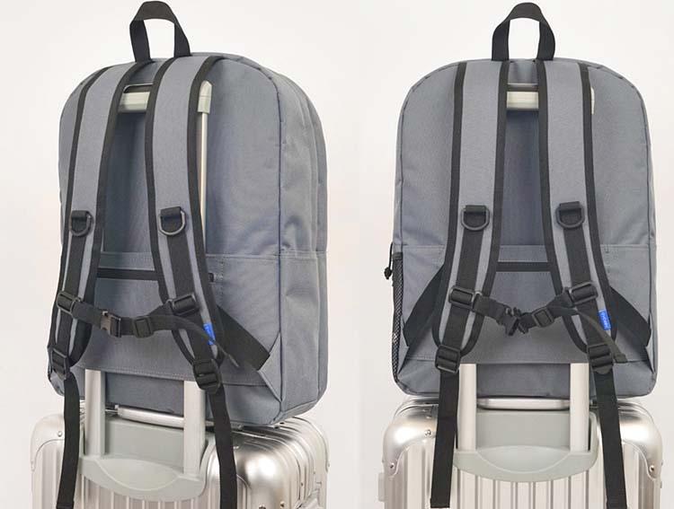 ABROAD Threeeight Backpack(グレー) 韓国の学生に大人気のリュック♪