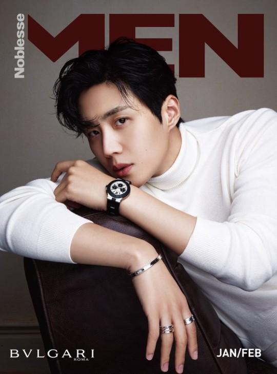 韓国雑誌 Noblesse MEN vol.1 キム・ソンホ(キムソノ)表紙、ユン・バク掲載(2021年1月・2月号合併号)