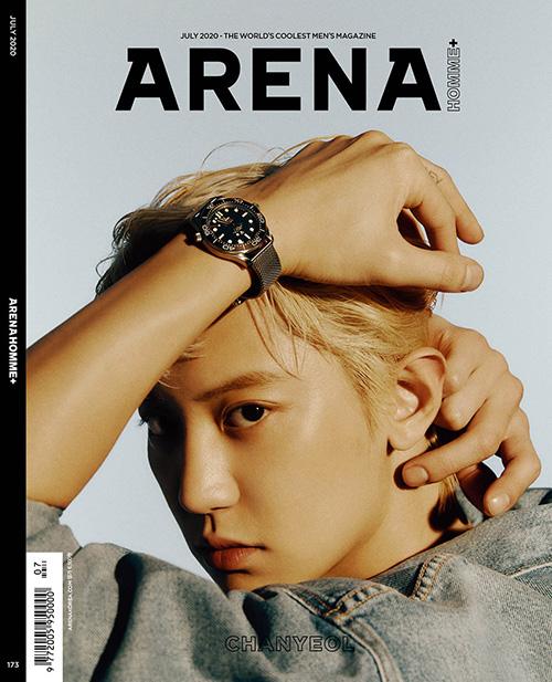 韓国雑誌 ARENA HOMME+(アレナ オンム プラス) 2020年7月号 EXOチャンヨル表紙、チャン・グンソク、NCT DREAM ジェミン&ジェノ&ロンジュン、P.O掲載(表紙ランダム発送)