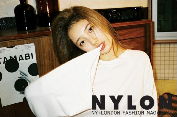 韓国雑誌 NYLON(ナイロン)2015年3月号 TEENTOPニエル、MissAスジ、ヨ・ジング、ビョン・ヨハン掲載![送料無料]