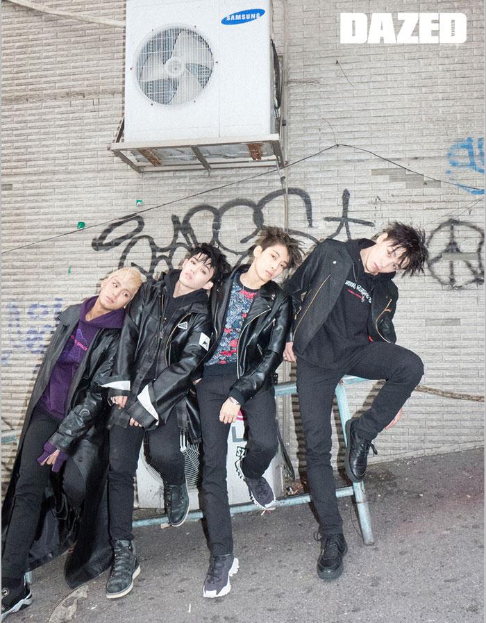 韓国雑誌 Dazed & confused Korea 2017年1月号 JYJキム・ジュンス&ハン・ジサン、SEVENTEEN、オム・ジョンファ掲載 表紙2種類から1種ランダム発送[送料無料]
