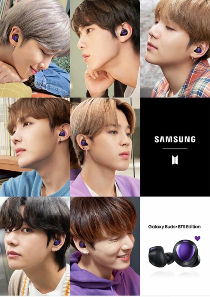 【BTS(防弾少年団)&Galaxyコラボ ワイヤレスイヤホン】Galaxy Buds+ BTS Edition 韓国販売分 購買代行