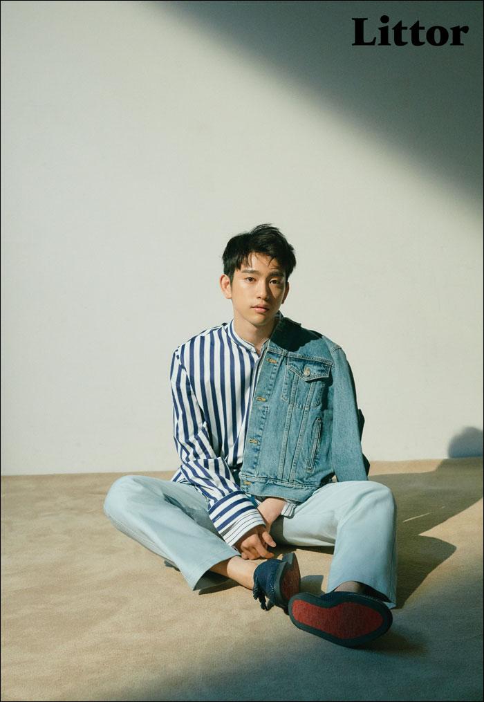 韓国雑誌 Littor 2018年6・7月号(12号) GOT7ジニョン掲載