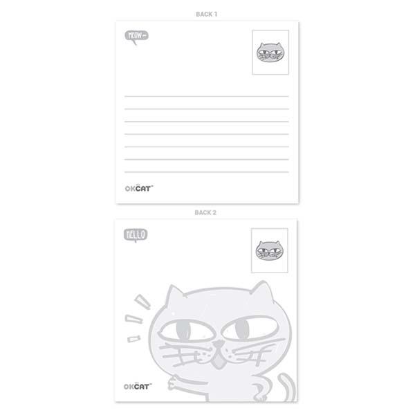 2PM オク・テギョン OKCAT ポストカードセット