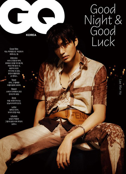 韓国雑誌 GQ KOREA(ジーキューコリア) 2021年2月号 イ・ミンホ表紙、SHINeeミンホ掲載(表紙選択)
