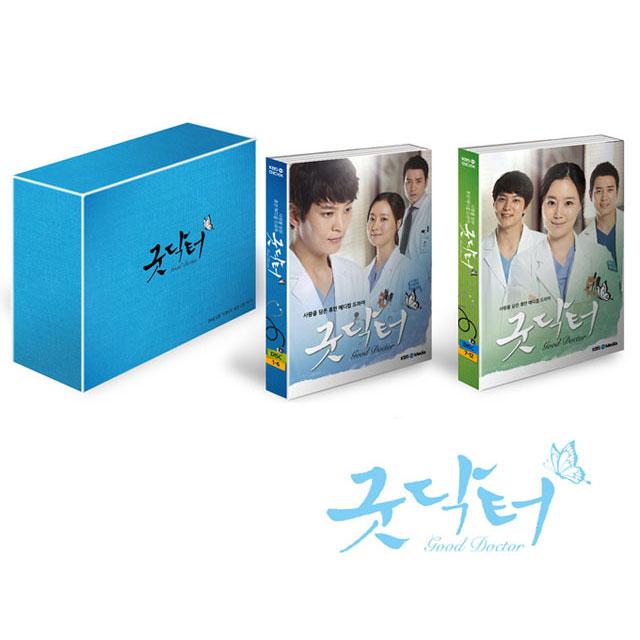 チュウォン、ムン・チェウォン、チュ・サンウク主演ドラマ「グッド・ドクター」プレミアム版DVD韓国版(フォトブック52P、台本集、ポストカード)
