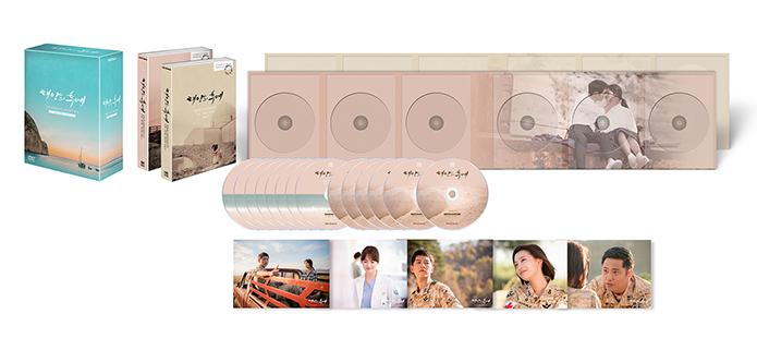ソン・ジュンギ&ソン・ヘギョ主演「太陽の末裔」監督版DVD(韓国版/コンパクト版)14枚組+ポストカード5枚/英語字幕/リージョンコード1、3、4、5、6