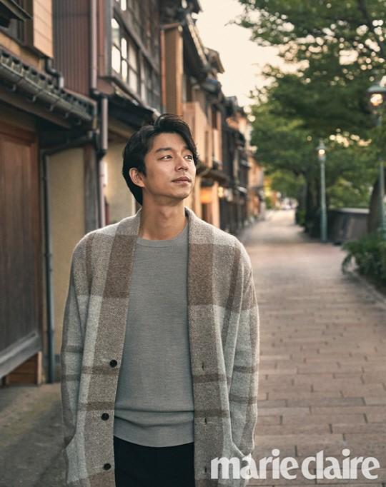 韓国雑誌 marie claire(マリクレール)2017年10月号 コン・ユ、イ・ソジン、クォン・サンウ掲載