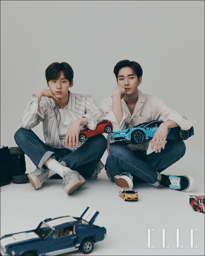 韓国雑誌 ELLE (エル)2019年5月号 NU'EST、f(x)クリスタル、ソルリ、SHINeeミンホ、パク・ソジュン、リュ・ジュンヨル掲載(表紙ランダム発送)