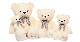 韓国バラエティ番組「私は一人で暮らす」ウィルソン ラブ・ストーリーベア ぬいぐるみ人形 アイボリー ジャンボサイズ110cm(座高74cm)/WILSON LOVESTORY BEAR DOLL