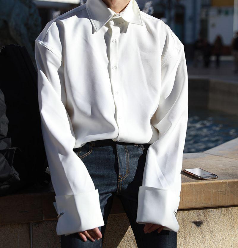 ASCLO(エジュクロ) リング・ロングシャツ 全3色