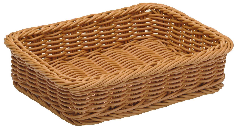 角型ディスプレイバスケット39(ブラウン)