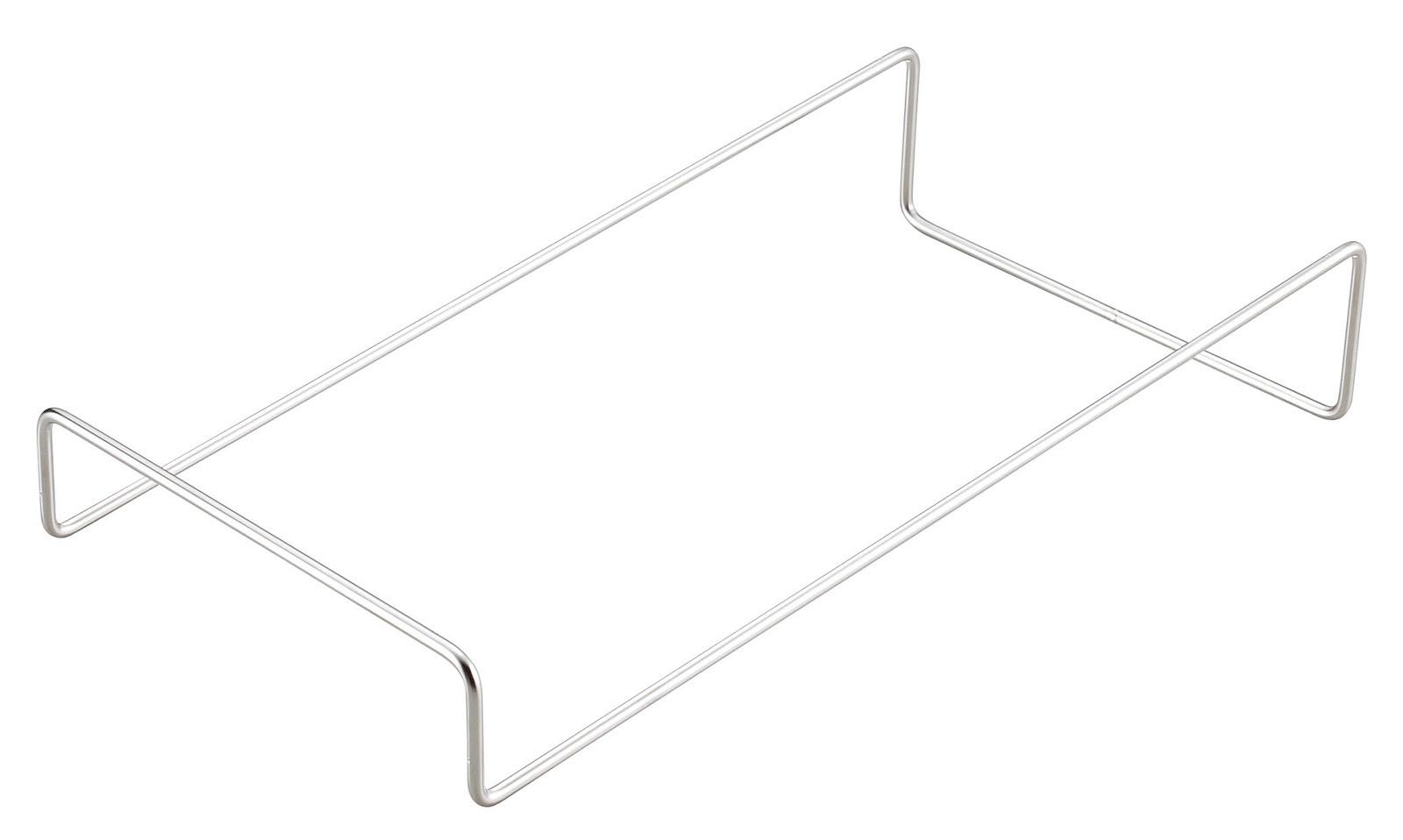 ワイヤースタンド傾斜型(シルバー)