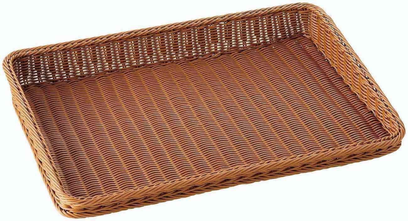 傾斜型ディスプレイバスケット6030(ブラウン)