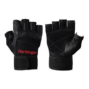 ハービンジャー(Harbinger)トレーニンググローブ(リストラップ付き)(男性用)-5%OFF