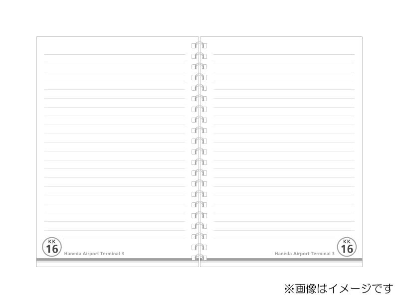 駅名板リングノート 羽田空港第3ターミナル駅/羽田空港国際線ターミナル駅