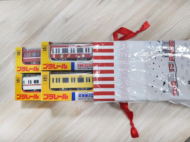 ラッピング袋(プラレール用)