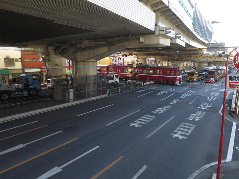 京急プラレールセット D.大きな踏切セット(旧産業道路駅風)