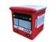 ケイキューブ収納ボックス 2100形/RED