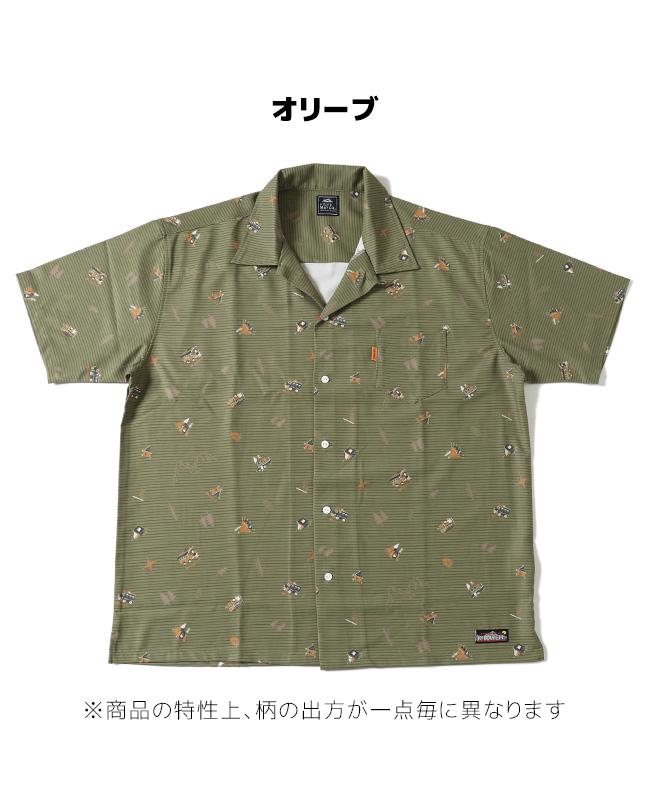 総柄開襟半袖シャツ MENS 2045100
