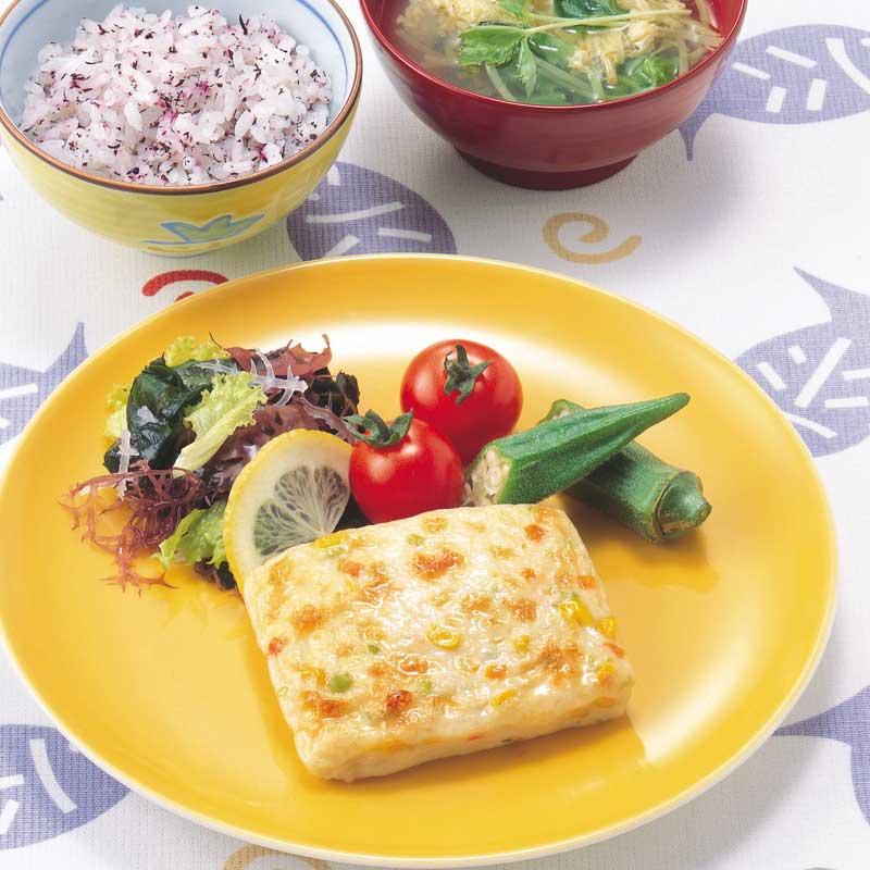 TM おさかなと野菜のステーキ(50g×25)